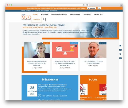 Theme WordPress FHPMCO 2017 - fhpmco.fr
