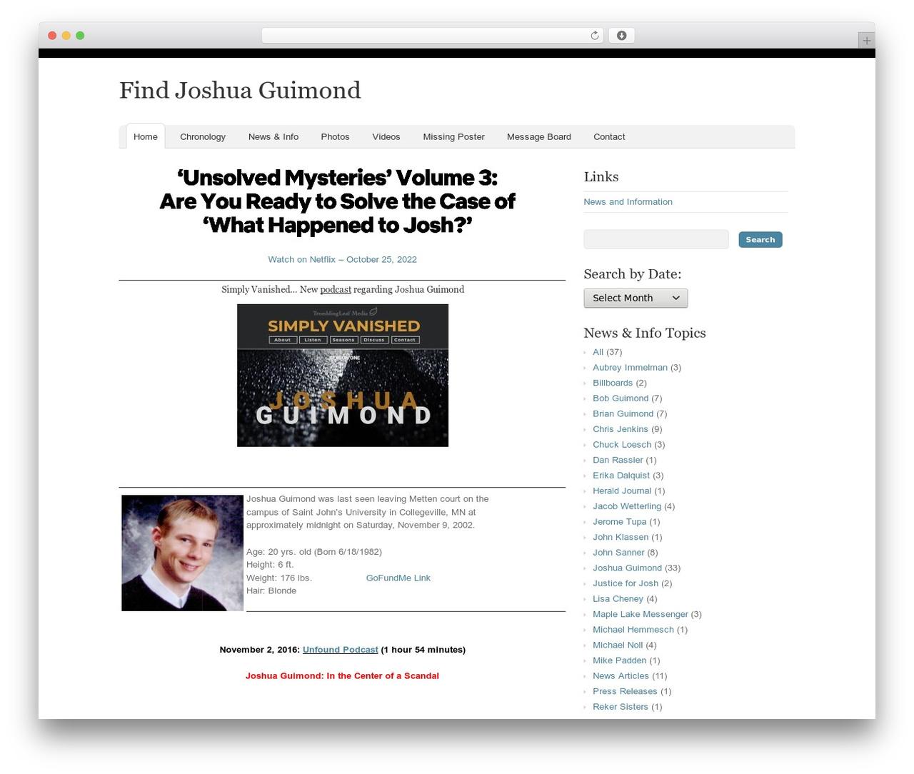 Theme WordPress Oracle - findjoshua.com
