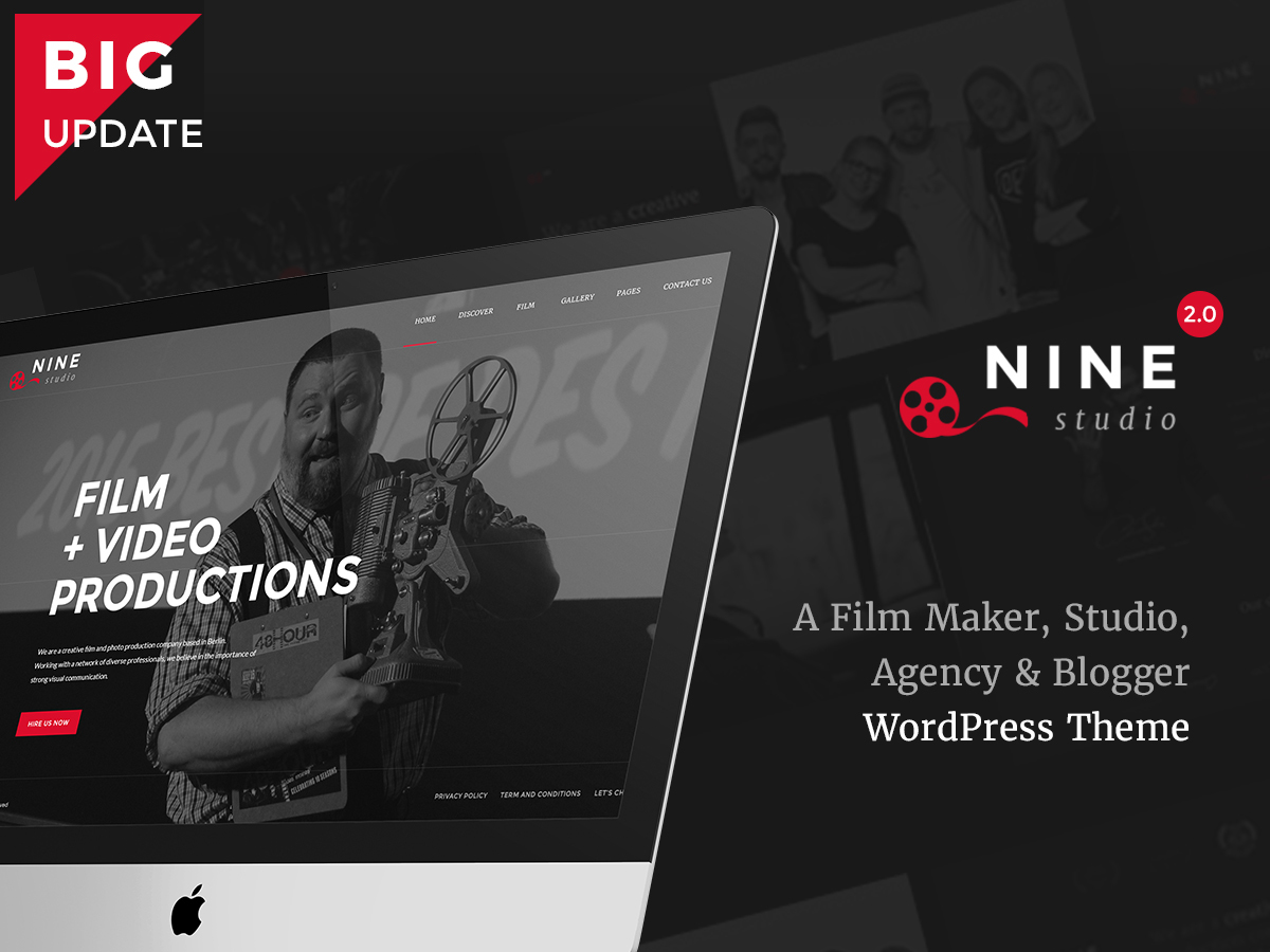 WP theme TM 9studio