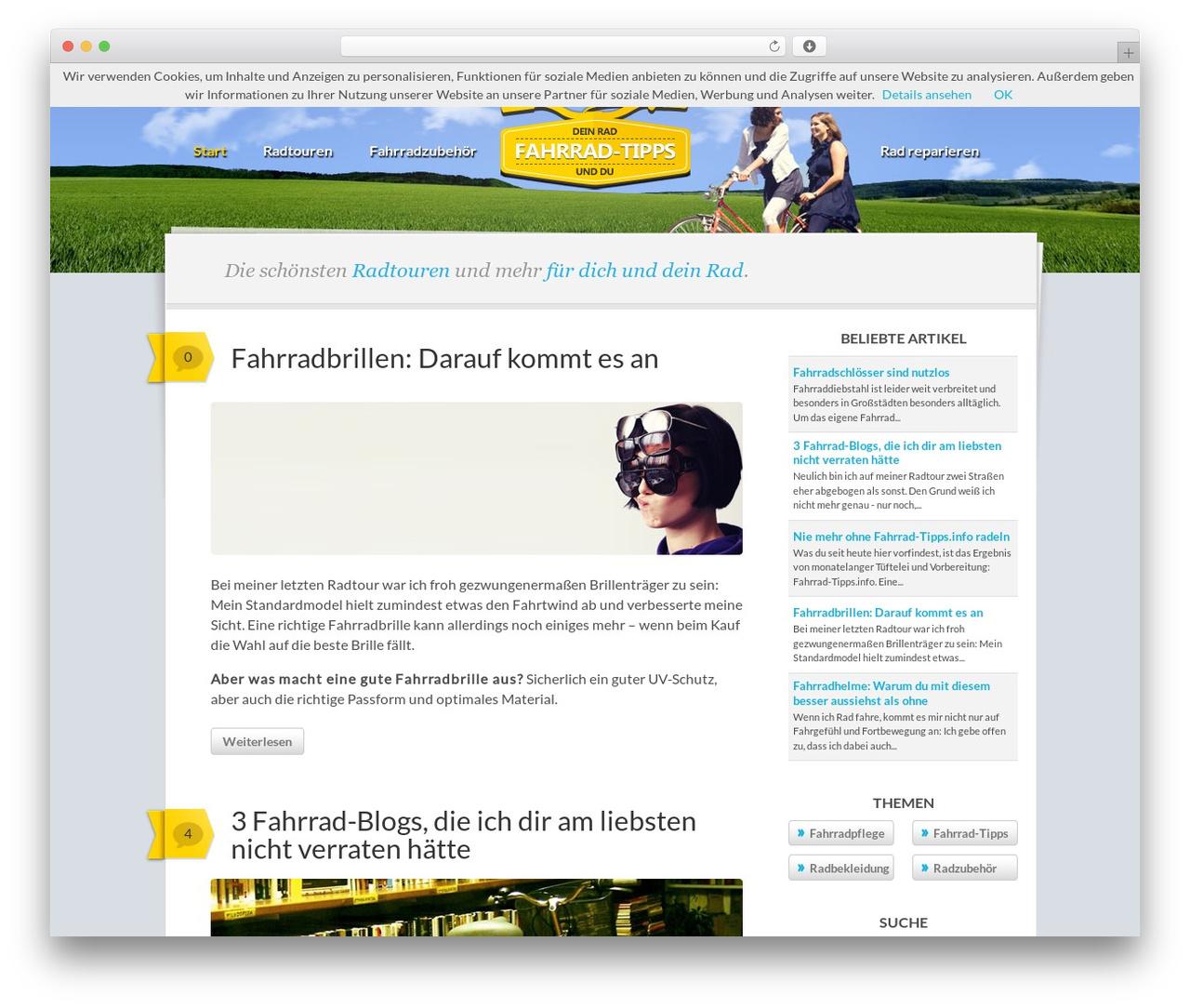 Writer template WordPress free - fahrrad-tipps.info