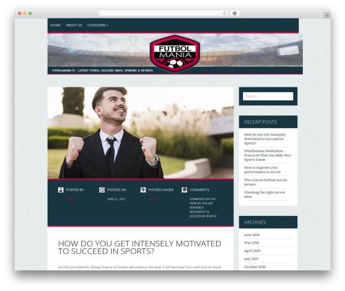 Zoren WordPress magazine theme - futbolmania.tv