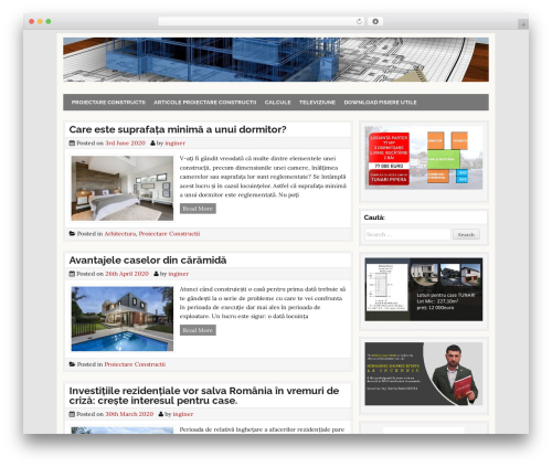 CleanWP WordPress free download - proiectare-constructii.ro