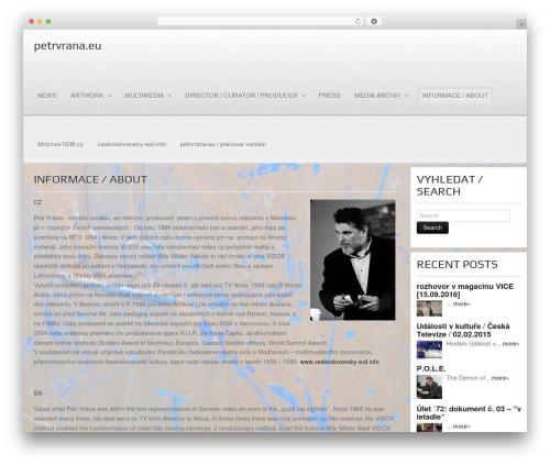 Gantry Theme for WordPress template WordPress - petrvrana.eu