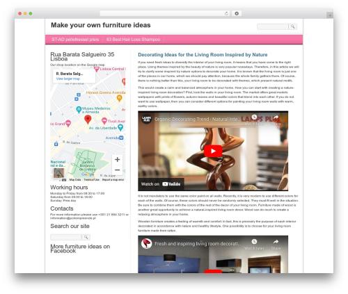 WordPress template For Women-Female - poliempreende.pt