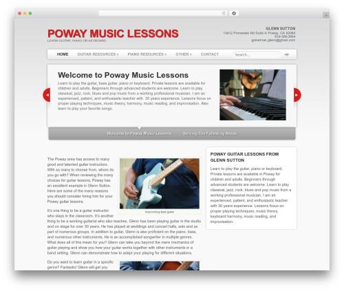 Delegate best WordPress theme - powaymusiclessons.com