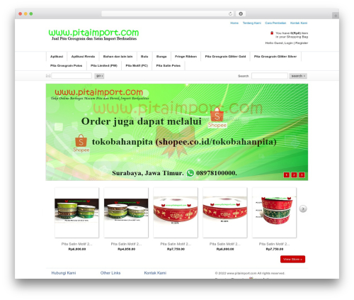 Emporium theme WordPress - pitaimport.com