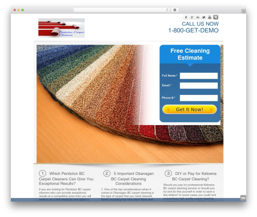 Rent-A-Serp Theme best WordPress template - pentictoncarpetcleaners.com