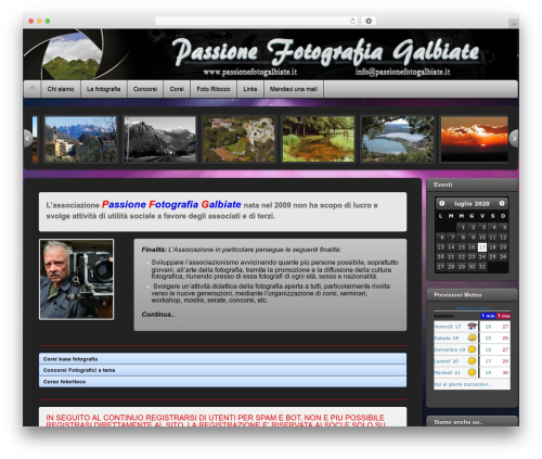Theme WordPress iTheme2 - passionefotogalbiate.it