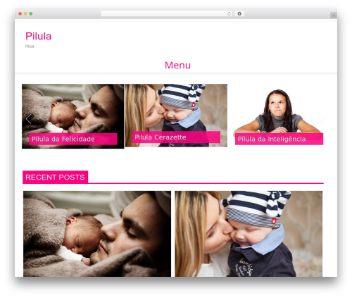Verge Pro top WordPress theme - pilula.pt