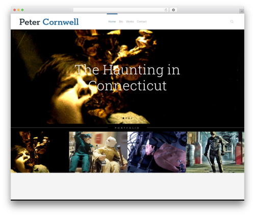 WordPress theme Eden - petercornwell.com