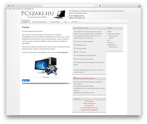 WordPress theme Genesis - pcszaki.hu