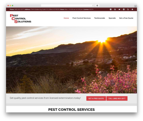 WordPress theme Worker - pestcontrolsolutionsaz.com