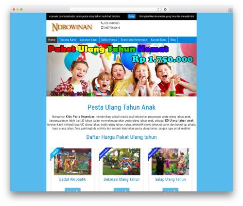 WP-Wisata best WordPress theme - pestaulangtahun.com