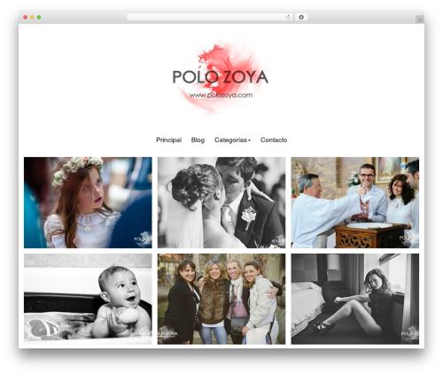 Bokeh Pro 2 WordPress wedding theme - polozoya.com