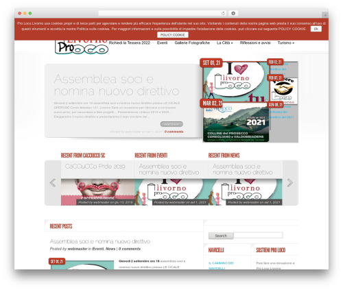 Delicate News WordPress news template - prolocolivorno.it