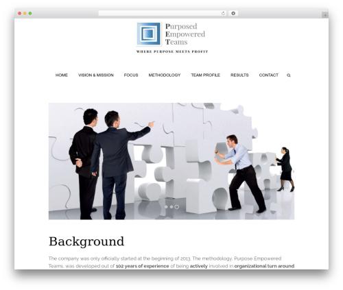 Sixth Avenue best WordPress template - peteams.com