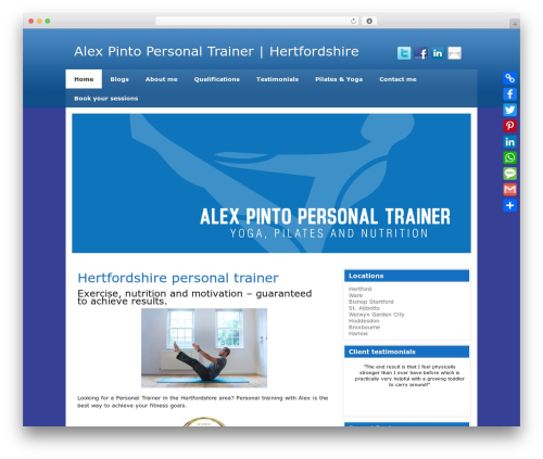 WordPress announcement-and-vertical-scroll-news plugin - personaltrainer-alex.com