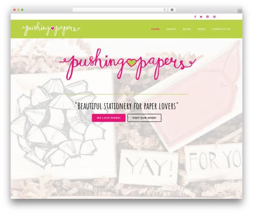 WordPress WPBakery Page Builder plugin - pushing-papers.com