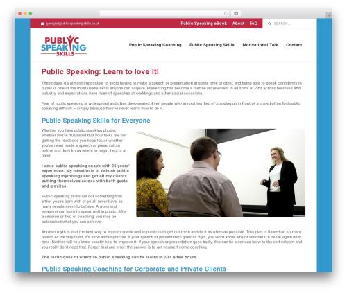 Business by MyThemeShop WP theme - public-speaking-skills.co.uk