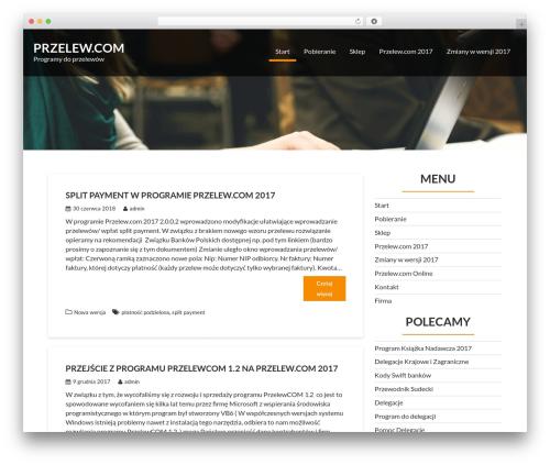 Corporate Plus WordPress theme - przelew.com