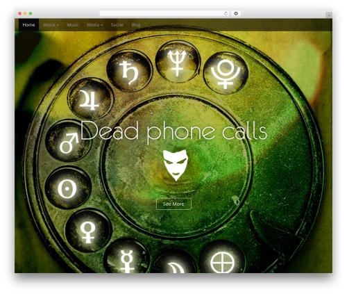 Template WordPress Arcade Basic - deadphonecalls.com