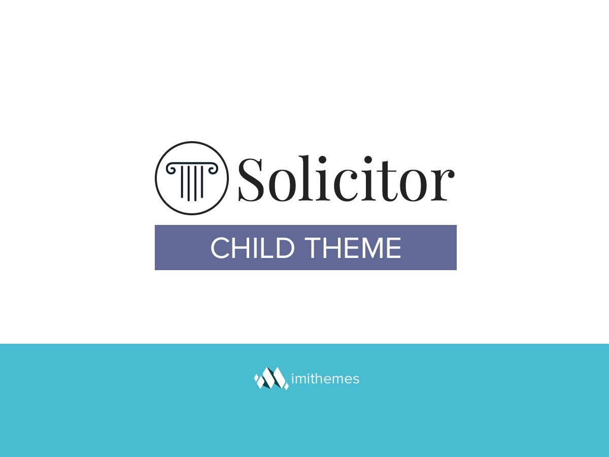WP theme Solicitor Child Theme