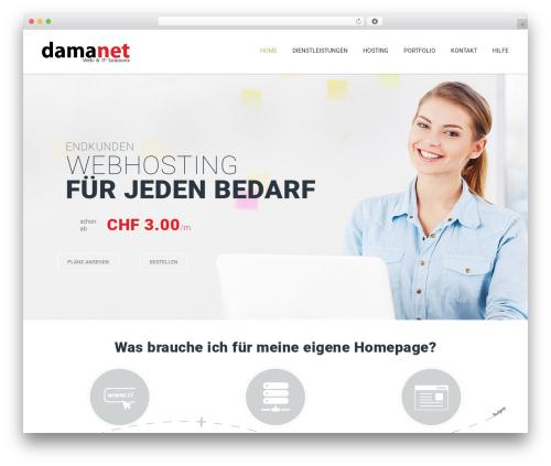 ArkaHost WordPress template - damanet.ch