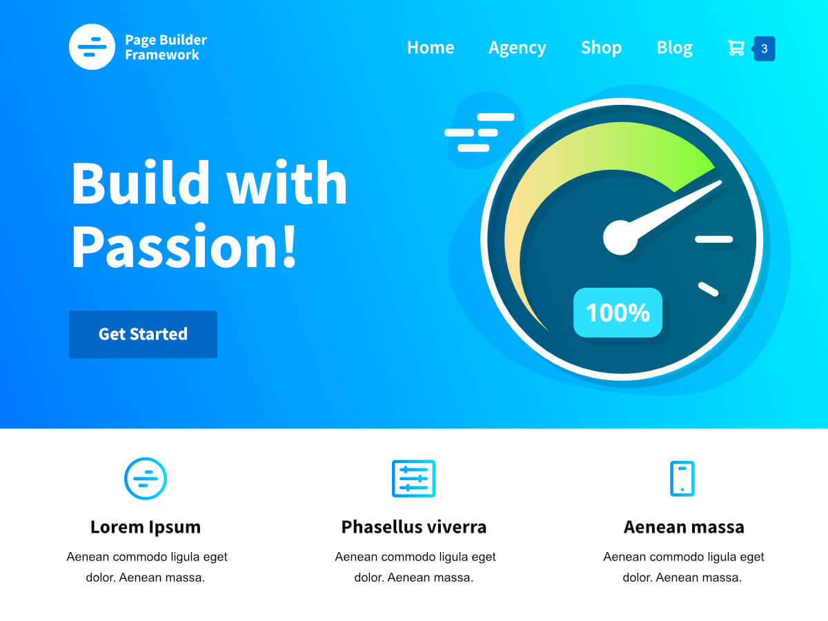 Best WordPress template Page Builder Framework