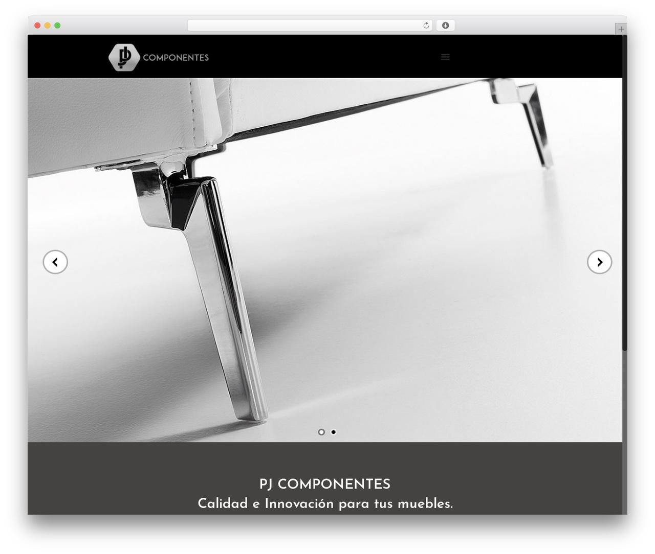 Betheme theme WordPress - pjcomponentes.com