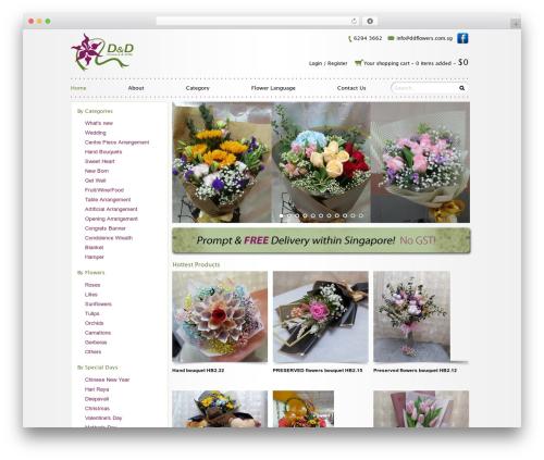 Free WordPress WP PageNavi Style plugin - ddflowers.com.sg