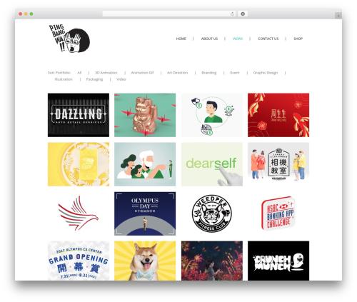 Stockholm theme WordPress - pingbangwa.com