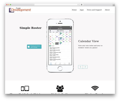 Template WordPress Mobera - purpledevelopment.net