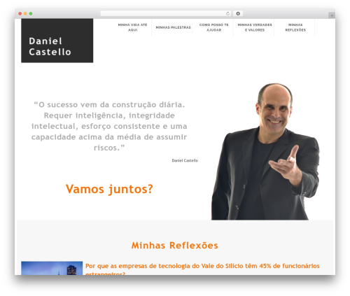 WordPress template Orao Child - danielcastello.com.br