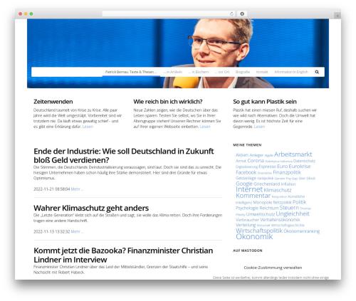 Free WordPress googleCards plugin - patrick-bernau.de
