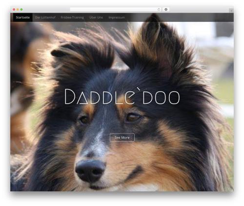 Arcade Basic WordPress template free - daddledoo.de
