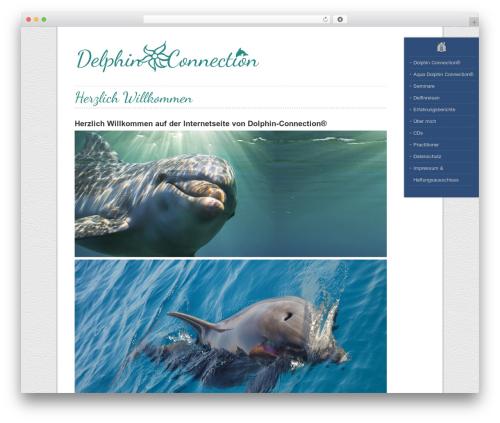 Best WordPress template LeatherDiary - delphin-connection.de