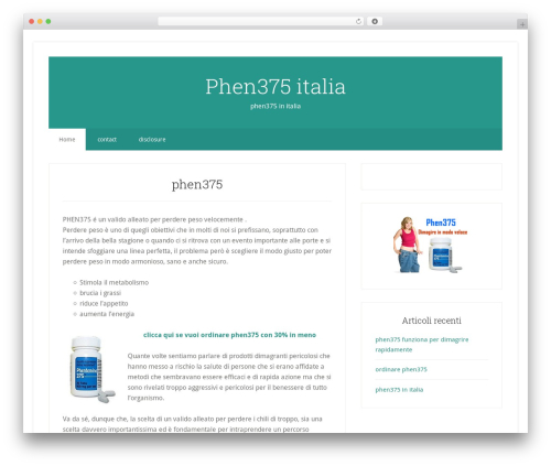 Genesis WordPress theme - phen375-italia.com