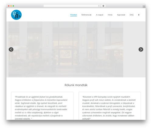 Impreza WordPress theme - pr-ego.publicrelations.hu