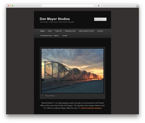 Free WordPress Contact Coldform plugin - danmayerstudios.com