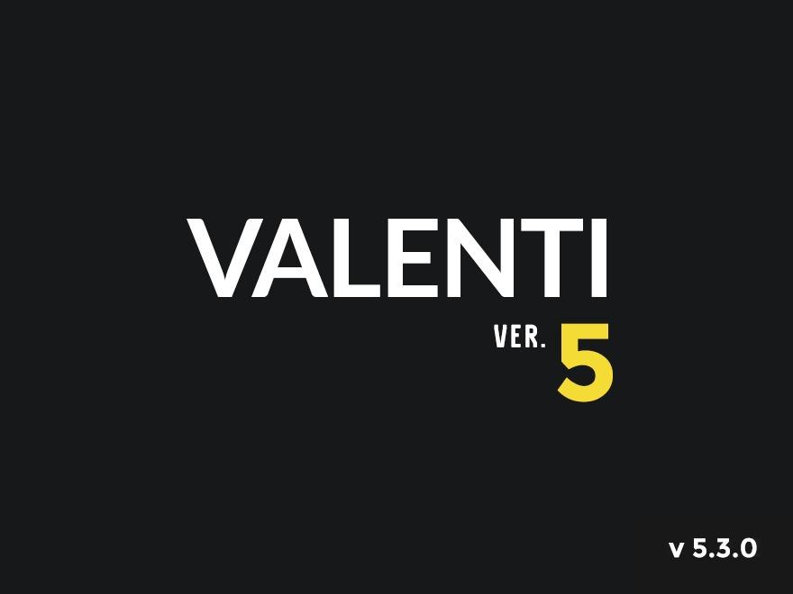 Valenti theme WordPress