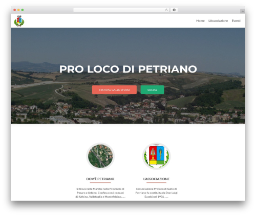 Zerif Lite theme free download - prolocodipetriano.it
