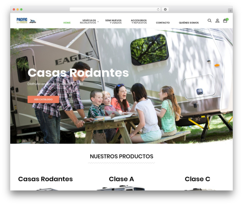BigCart WP theme - pacifictrailers.cl