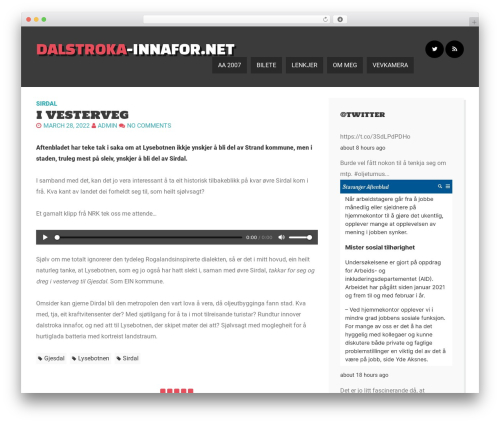 Here Ya Go best free WordPress theme - dalstroka-innafor.net