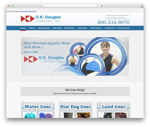 Free WordPress Custom Banners plugin - dkdouglas.com