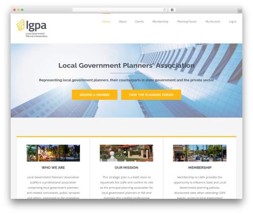 Free WordPress Theme My Login plugin - planningwa.com