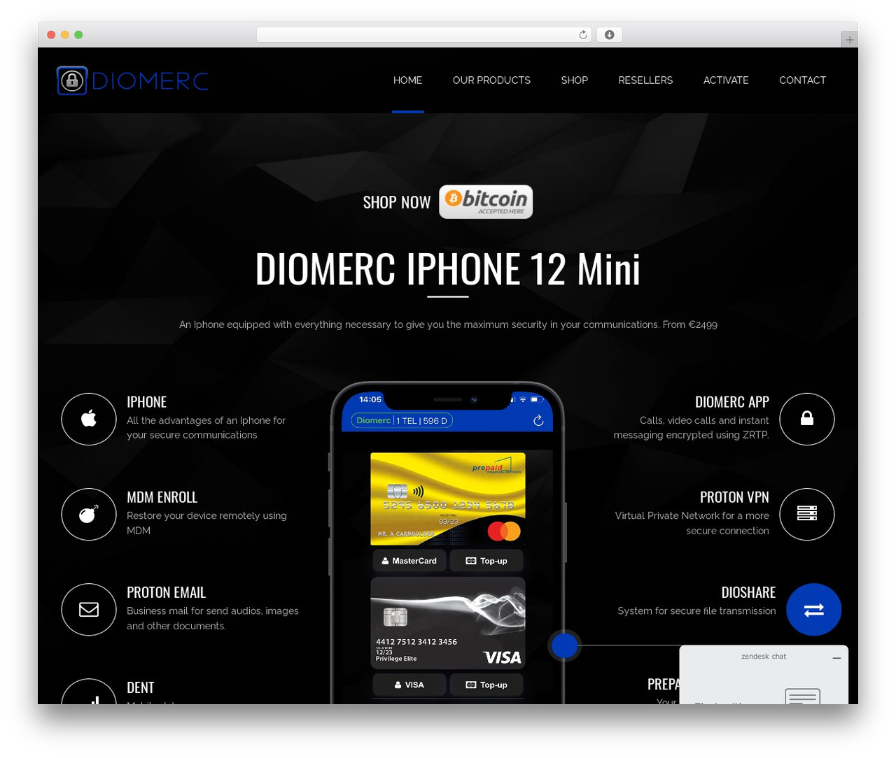 Applay premium WordPress theme - diomerc.com