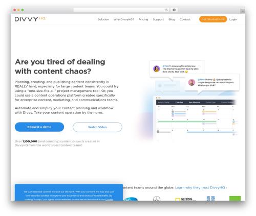 Theme WordPress Jupiter - divvyhq.com