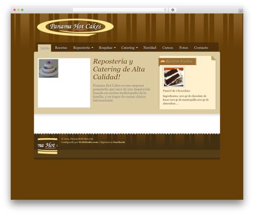 Gourmet top WordPress theme - panamahotcakes.com