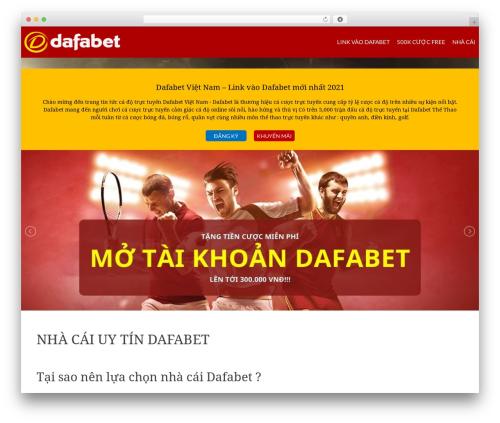 HitMag template WordPress free - dafabetvietnam.net