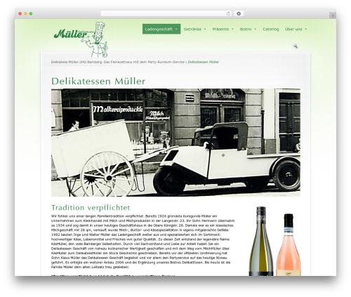 Prestige Ultimate Wordpress Theme WordPress page template - delikatessen-mueller.de